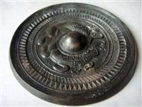 漢代黑漆古銅鏡在線收購價格