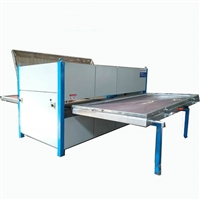 山东省明兴机械 金属铝板双面木纹转印机