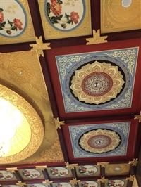 寺廟吊頂大雄寶殿天花板裝修材料