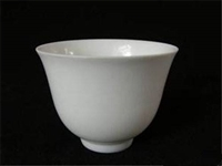 甜白釉天子款龍紋杯的私人 收購價值