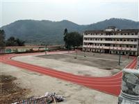桂林塑胶硅PU丙烯酸PVC地板球场跑道