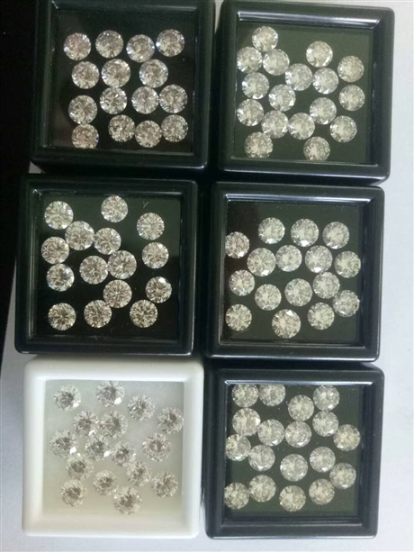 北京镶嵌用HPHT高温高压合成钻石培育钻石