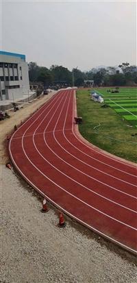 桂林塑膠跑道足球場