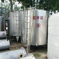 供應二手不銹鋼攪拌罐10噸反應釜