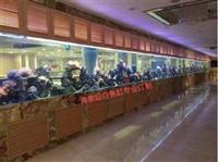 廣州哪里制作海鮮玻璃魚缸 廣州海鮮魚池設計海鮮池設備  洋清水