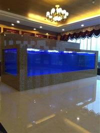 广州海鲜池制作厂家 设计水产店海鲜池 制作海鲜池洋清水族公司