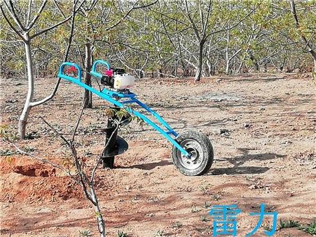 植树钻坑机-栽种打坑机汽油引擎
