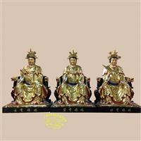 民间工艺品佛像批发 三宵圣母感应随世三仙姑神像