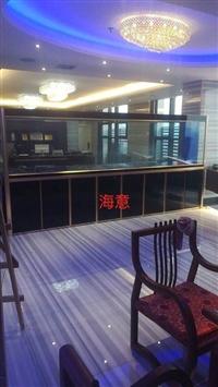 廣州大型海鮮池安裝設計費用  廣州洋清海鮮池制作價格表