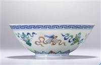 清雍正斗彩团菊碗哪里可以 拍卖转让