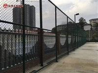 常德室外球场围网规格-澧县小区篮球场包塑围网安装