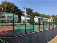 长沙小区篮球场围网制定 长沙县学校操场体育围栏安装