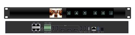 6机位4K互动录播一体机  超高清5路4K视频会议医学录播主机