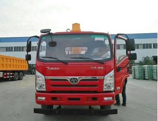 吉林三环十通新飞工6.3吨随车吊厂家直销多少钱/性价比高