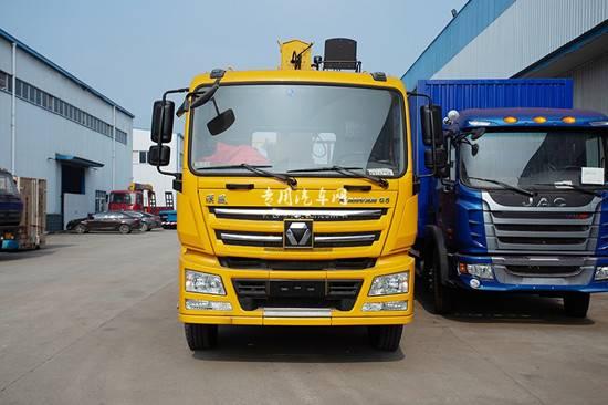 徐工汉风一体化小三轴徐工10吨随车吊生产厂家/厂家多少钱