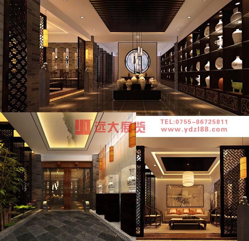 深圳展厅设计装修搭建 展览装修公司 远大展览