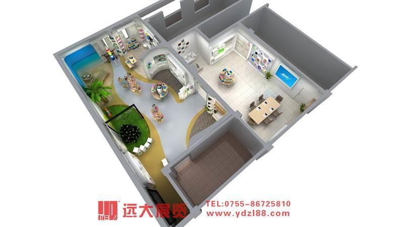 企业展厅设计-深圳展厅设计搭建公司