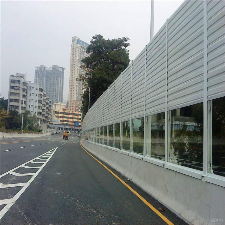 桥梁声屏障生产、桥墩隔音屏障定制、组合型吸音板