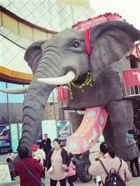 大型策划机械大象出租