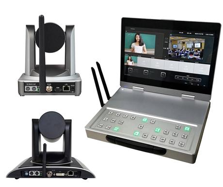 4路无线录播一体机 4路无线便携式数字教学录播一体机