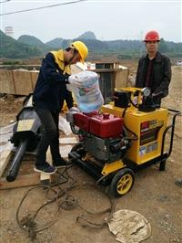 建设洞采岩石劈裂机研发生产