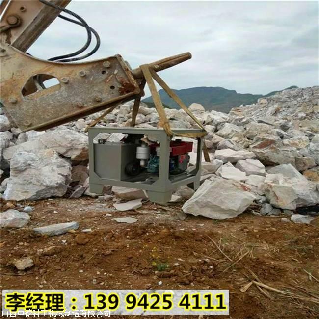 辽宁锦州房梁破拆混凝土拆除胀裂器台班成本