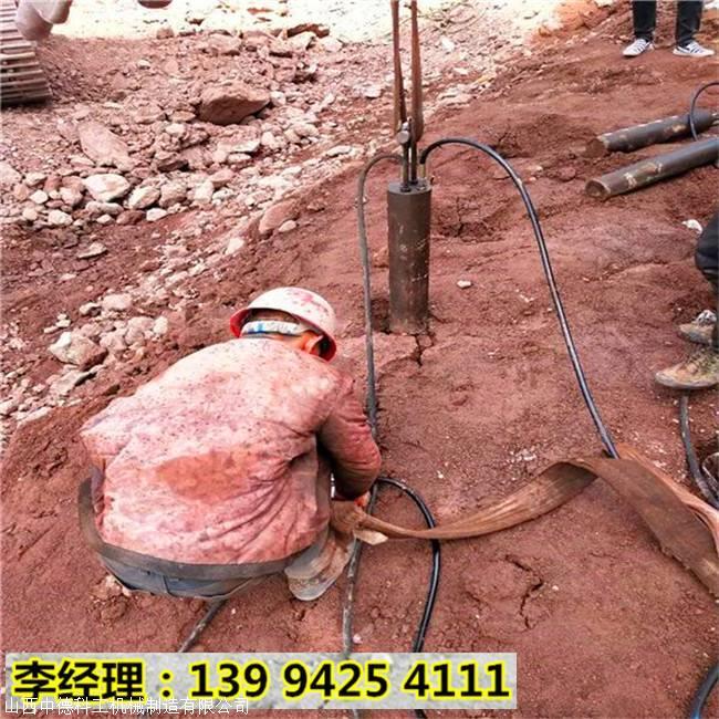 资阳简阳坚硬岩石开爆不用凿岩机矿石开采设备适不适用