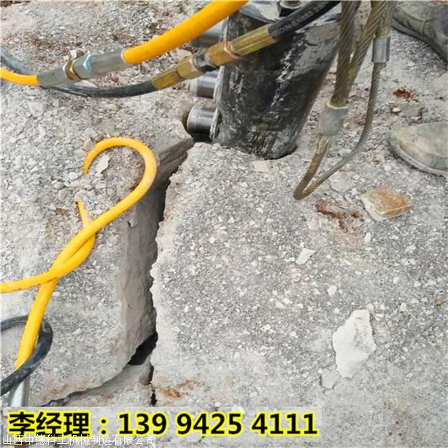福建龙岩石材厂开采岩石断裂机哪家好