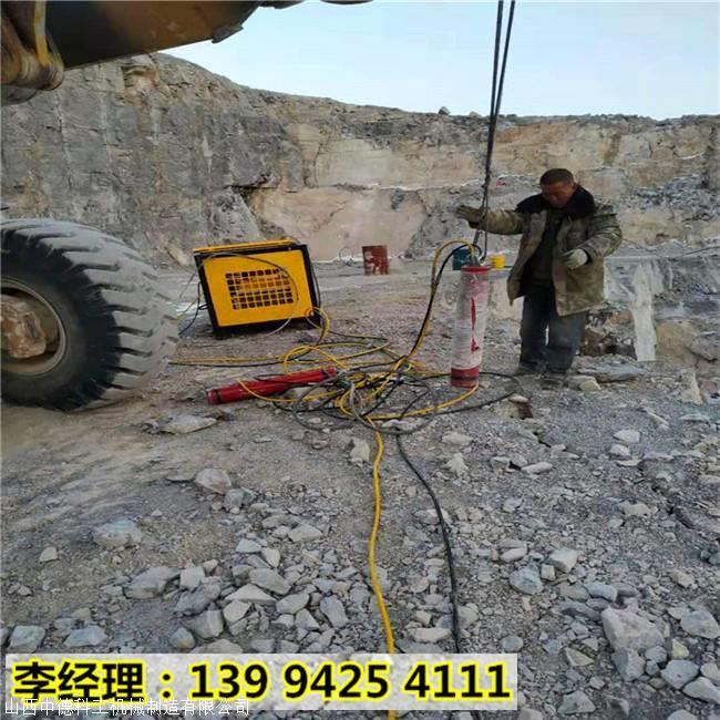 邱县液压驱动式石头破碎分石机质量怎么样