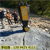 安徽芜湖岩石无声拆除岩石凤凰彩票app手机版机破碎岩石机器