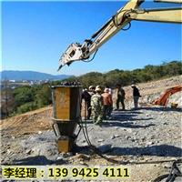 河北邢台采石场开采石灰石劈裂机适不适用