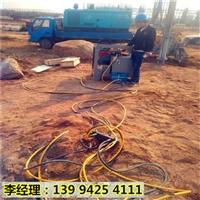 贵州黔南基坑开挖岩石静态劈石机精品推荐
