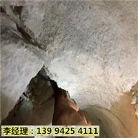 新疆哈密静态无声开采岩石设备劈裂棒综合成本