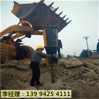 辽宁朝阳机械化石材矿山开采劈裂设备破石头机器产品优点