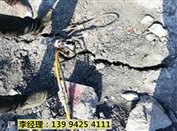 西藏昌都采石代替破碎锤碎石头分石机免费咨询