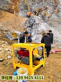 铜梁矿山开采代替挖机液压撑石机每立方成本