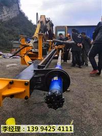 湖南湘潭基坑槽管沟开挖液压涨裂机破石方法