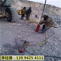 内蒙古巴彦淖尔比破碎锤效率快采石头机械当场调试