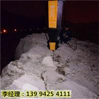 陕西渭南水坝建设开挖岩石分裂机制造商