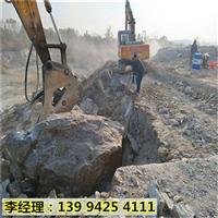 新疆城市改建地基岩石破碎开挖劈石机货到付款