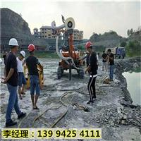 甘肃陇南机场扩建分裂岩石液压凤凰彩票app手机版机效果视频