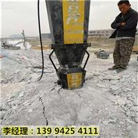 重庆忠县青石石材荒料开采液压劈裂机性能怎么样