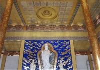 中式古建筑藝術彩繪吊頂 仿古建筑吊頂彩繪