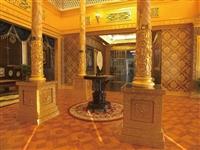 集成吊頂中式展廳會客所裝修裝飾