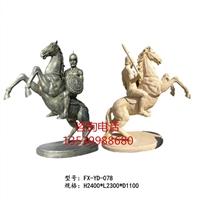 歐式羅馬騎士雕塑 人造石雕古羅馬騎士裝飾 羅馬武士模型擺件