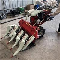 新型割自然捆机 水稻收割打捆机