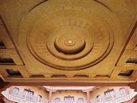 定制寺庙大型八角圈圈莲花瓣藻井