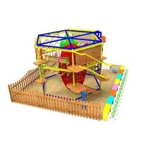 攀爬樂園特訓器械游樂園設備 室內親子互動樂園 兒童拓展器械