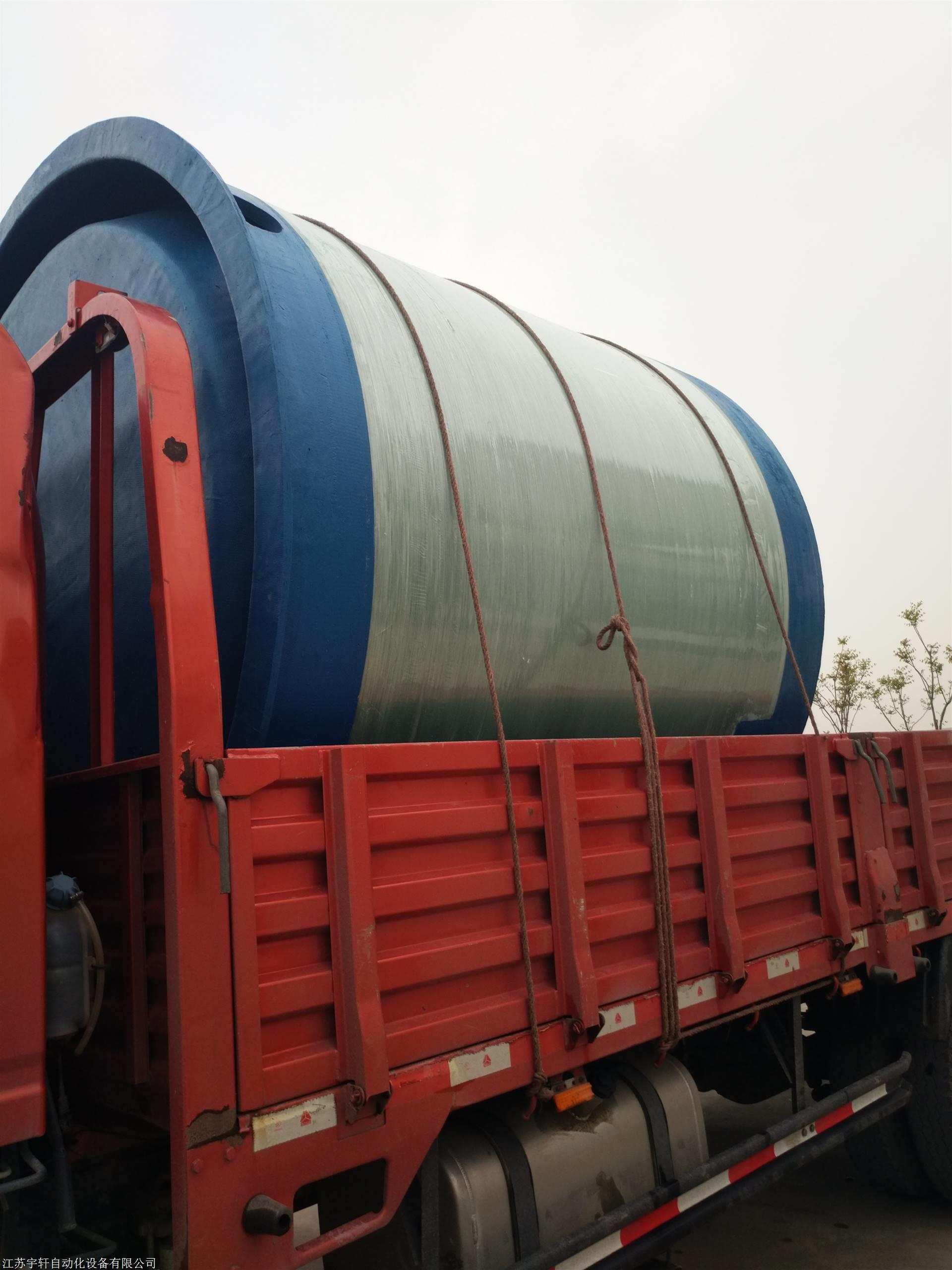 鶴崗一體化污水提升泵站功能