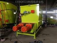 石家庄翔航农业机械,型号9TW-12双搅龙TMR饲料搅拌机